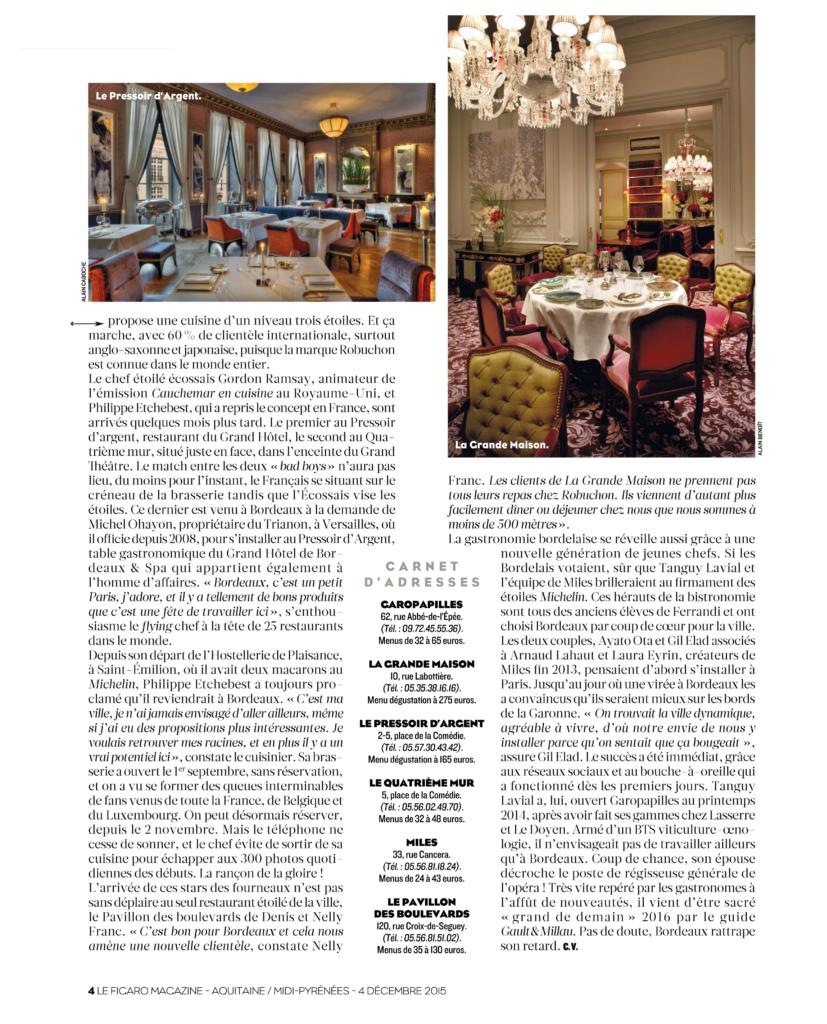 Article paru dans le Figaro Magazine (suite)